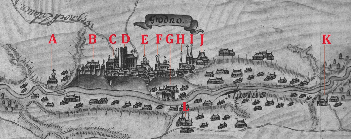 Як выглядаў Стары замак у XVII - XVIIІ стст.?