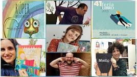 Autores infantiles y juveniles en la Feria del Libro de Almería.