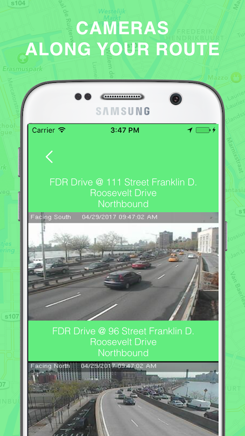 Green Wave - Traffic Cameras- screenshot