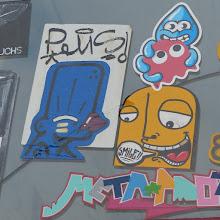 Photo: Stickerparade; Brause; PQUS  SMILE META et al.