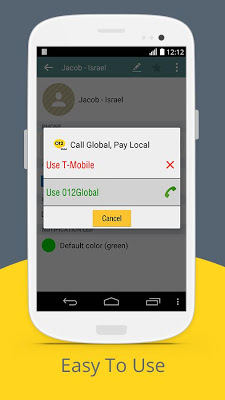 Call Global, Pay Local - screenshot