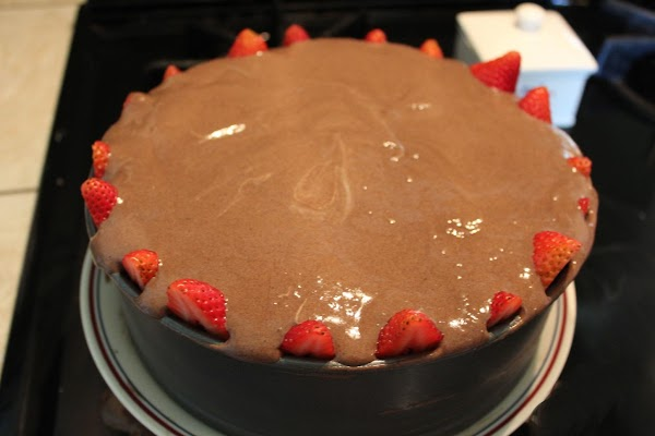 Spread this over the top of the whipped topping on the surface of the...