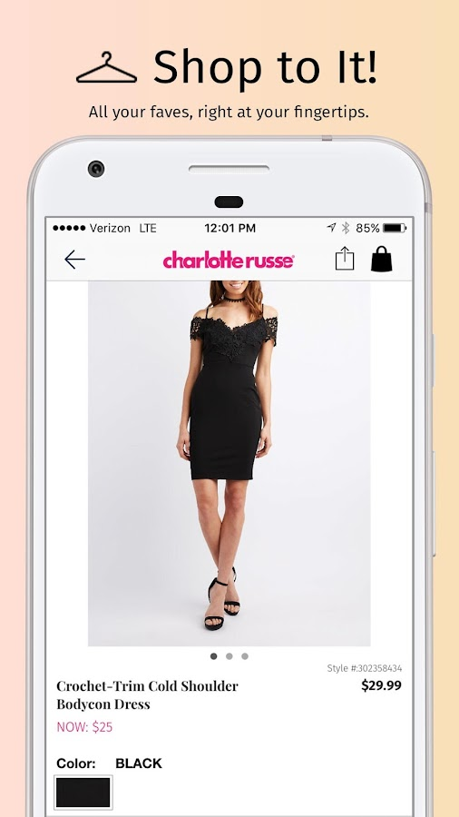 Charlotte Russe- screenshot