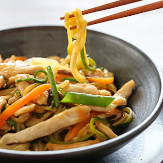 "Chicken Zoodle ""Lo Mein"""