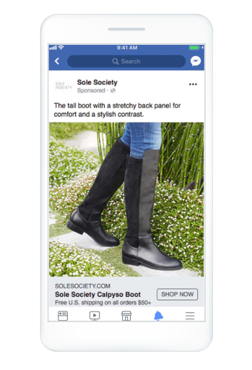 Facebook Ad Size Image Ad