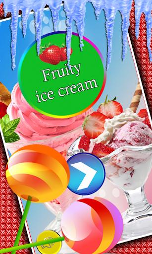 フルーティーなアイスクリームメーカー
