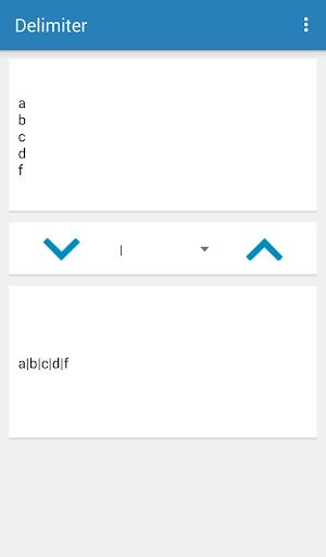Screenshot 3 Delimiter Tools