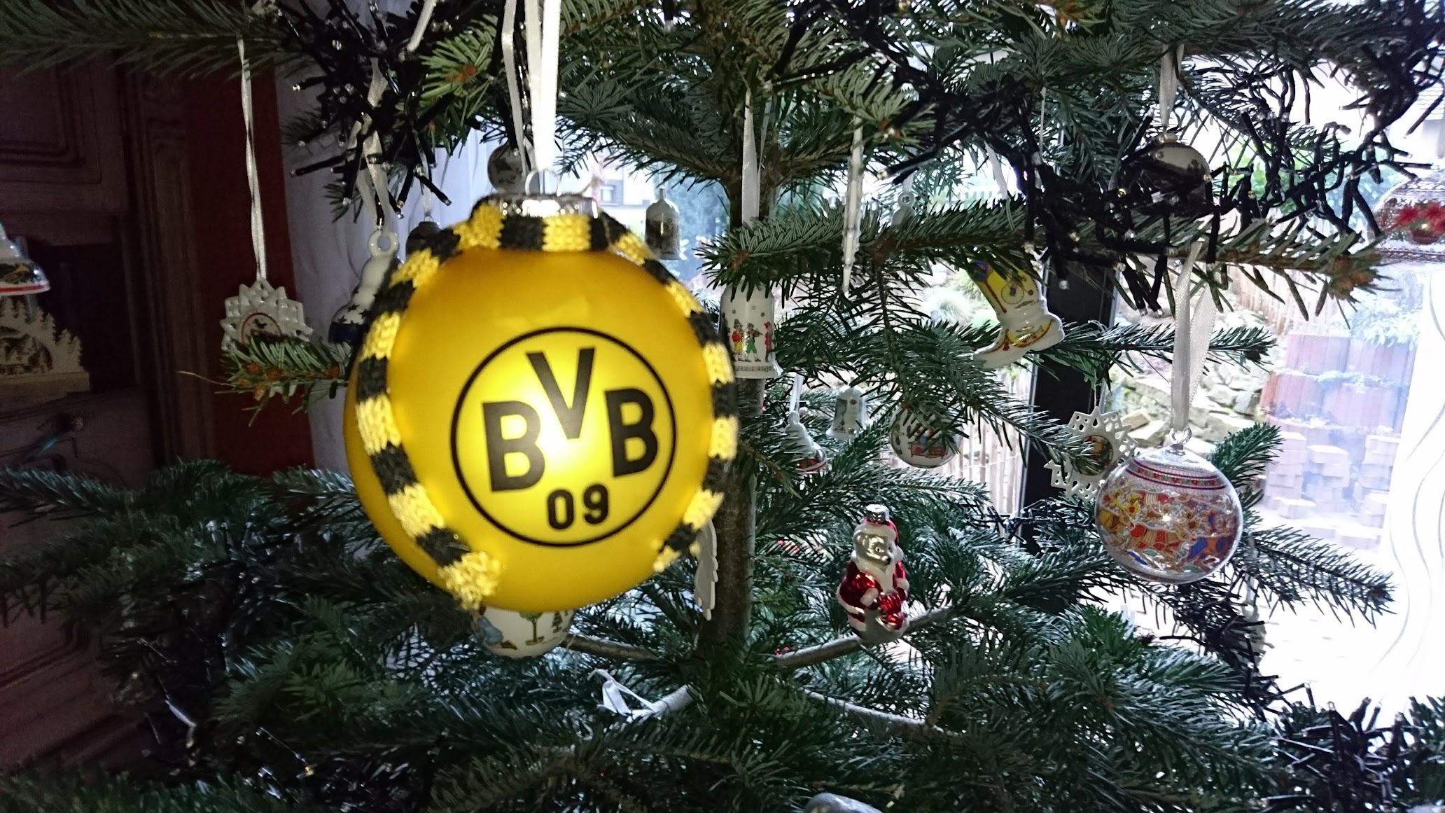 Weihnachtsbaum Kugel Borussia Dortmund BVB
