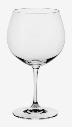 Copa Chardonnay para vino