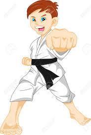 Znalezione obrazy dla zapytania karate clipart
