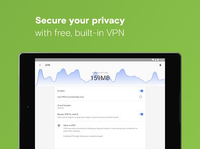 Opera with free VPN 9