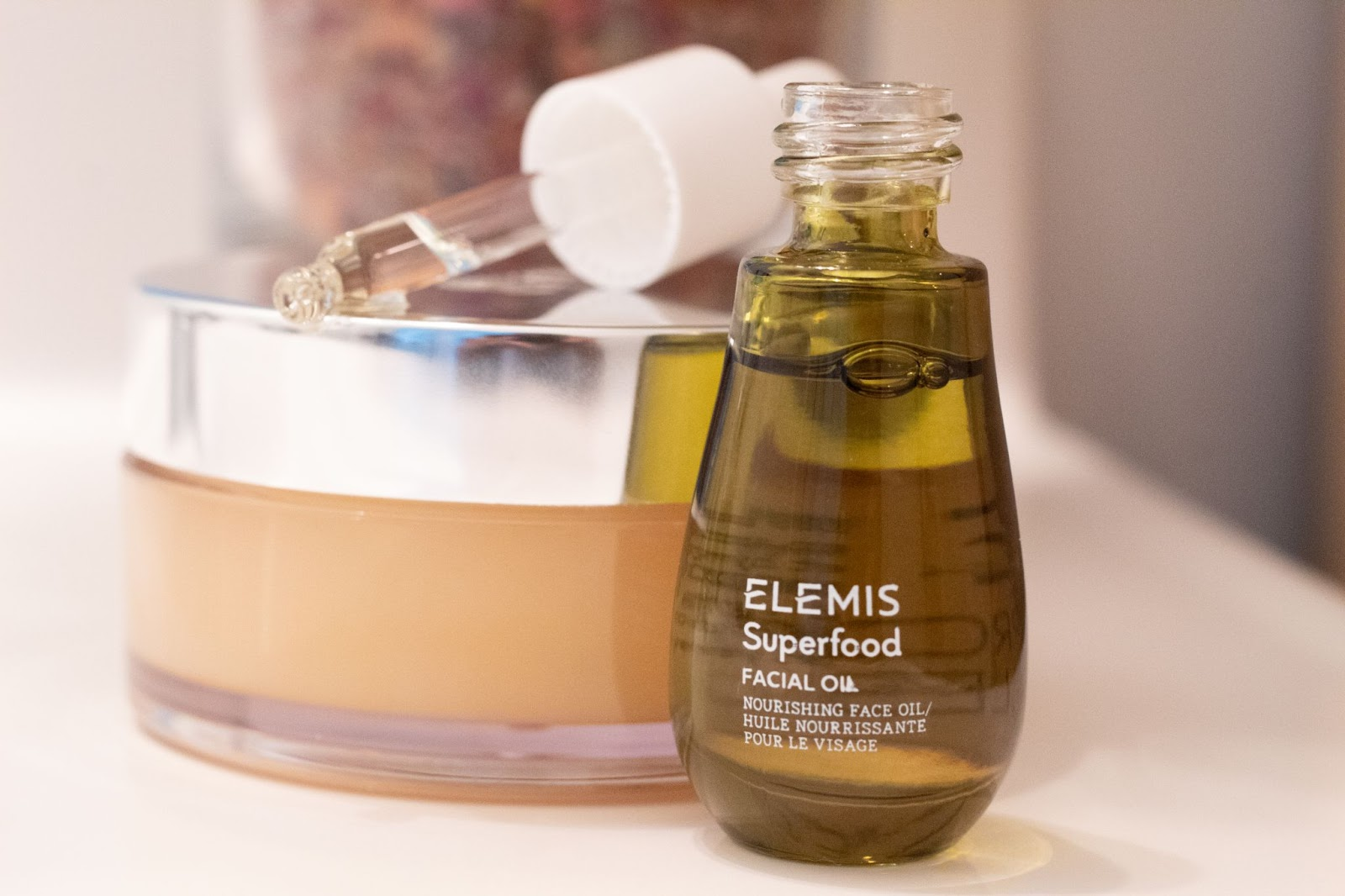 ELEMIS Skin Care Product Review - Superfood Facial Oil - Patience & Pearls