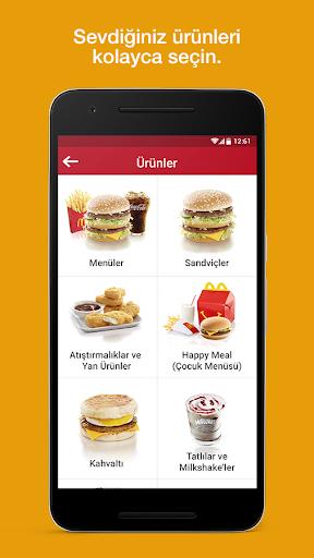 McDonald's - Mobil Yemek Sipariu015fi Ver 7.6.0.04 screenshots 2