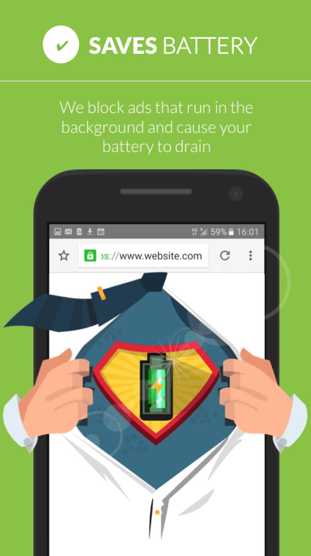 Free Adblocker Browser - Adblock & Popup Blocker Screenshot 3