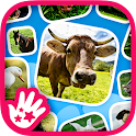 Kids Learn Farm Animals icon