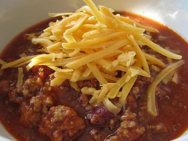 David's Chili, Make It Your Own! Recipe