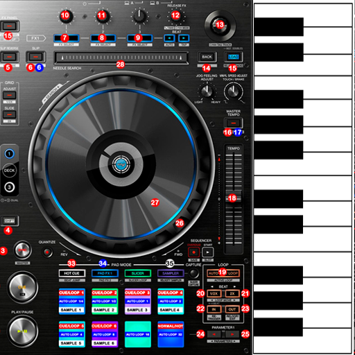 Professional Piano & DJ Mixer - Apps on Google Play