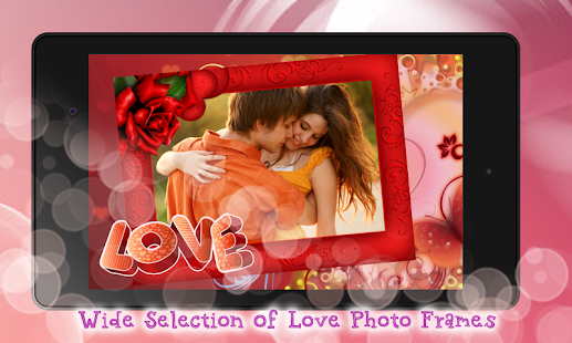 i love you photo frames maker screenshot thumbnail