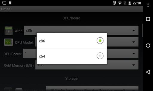 Limbo PC Emulator QEMU ARM x86 2.10.0-x86 screenshots 6