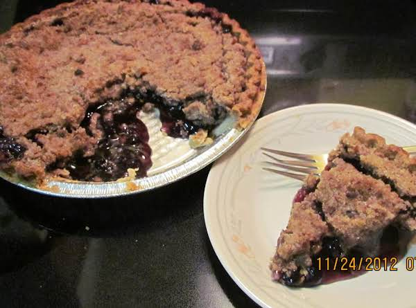 If You Cut The Pie While It Is Still Warm Some Of The Blueberry Filling 'falls' Out. Not To Worry. It Can Be Scooped Up And Added To The Plate. Believe Me...none Of It Goes To Waste!  Enjoy!!