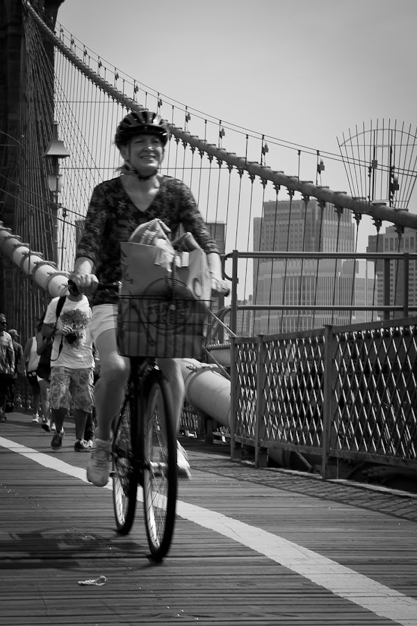 Crossing Over the Goods by Marc Brian Queyquep - People Street & Candids