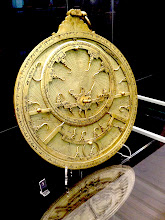Photo: A north African astrolabe on display at Museum of the History of Science