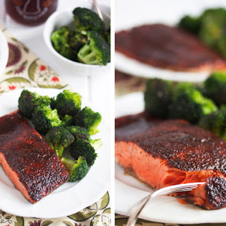 Maple Glazed Salmon