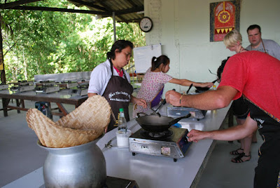 Learn how to cook from a Thai cooking chef