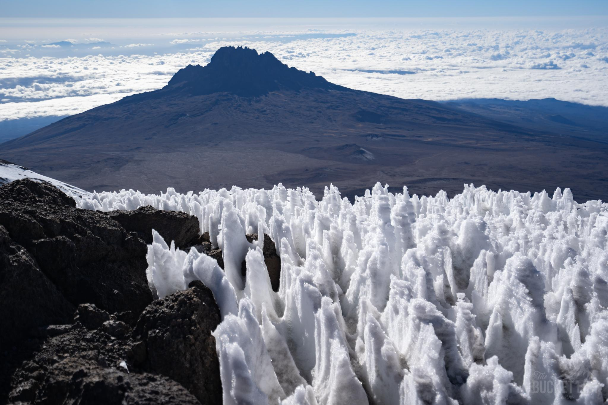 Kilimanjaro and ice fields