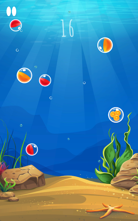 Sky Ball - ball drop- screenshot