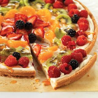 PHILADELPHIA Fruit Pizza.