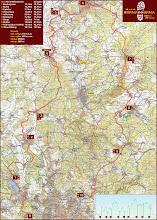 Photo: a celá mapa pochodu 19. ročníku