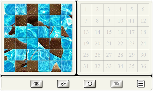 Tile Puzzle - Different Topics - náhled