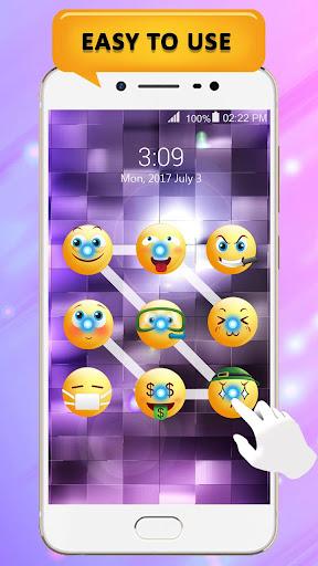 Emoji lock screen pattern 1.2.5 screenshots 6