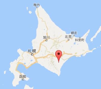 地図:東神楽町