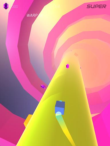 Warp and Roll - running flight action game 1.1.7 screenshots 9