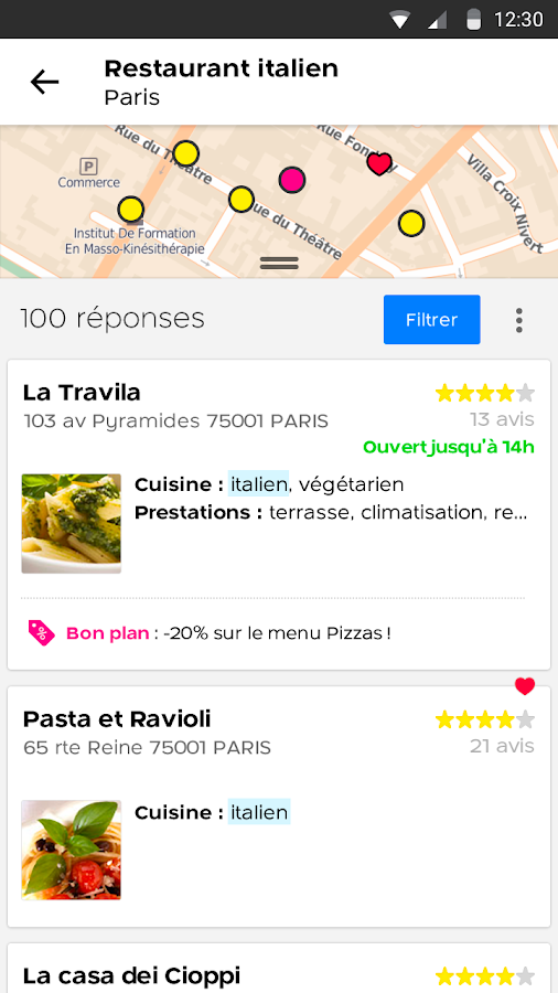 PagesJaunes - recherche locale - Android Apps on Google Play