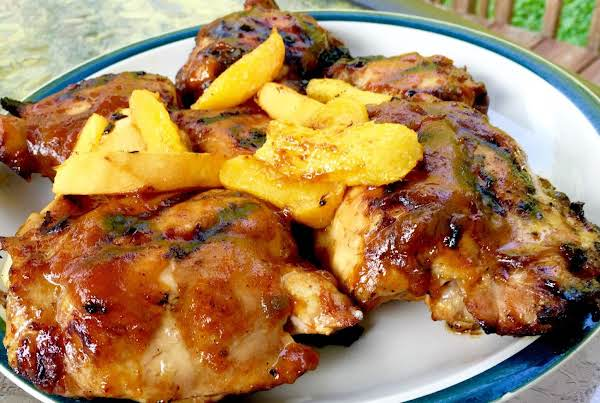 Mango Peach Bbq Chicken Recipe