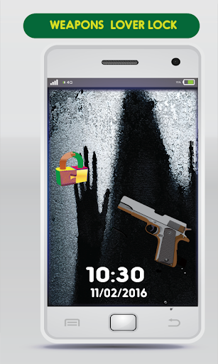 Fire Gun Equipment Screen Lock