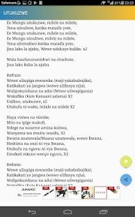 Tanzania Music Lyrics - náhled