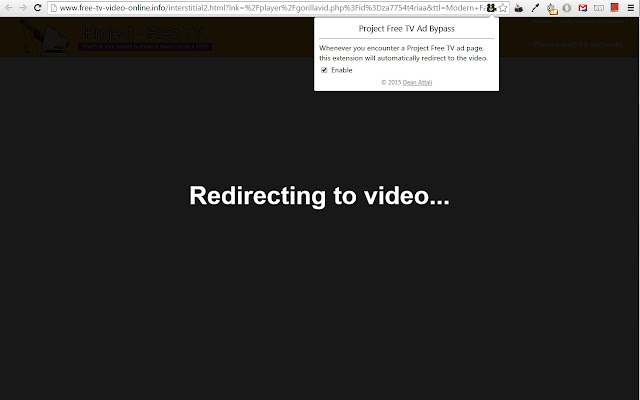 Project Free TV Ad Bypass