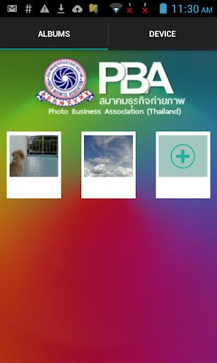 PBA Photo Transfer