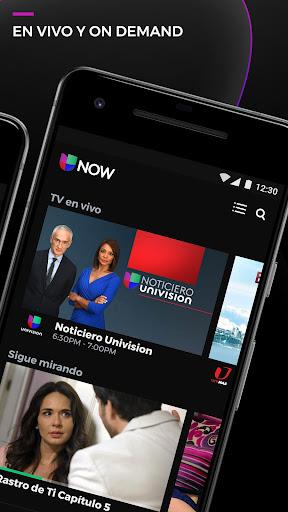 Univision NOW - TV en vivo y on demand en español 9.0318 screenshots 2
