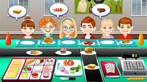 BBQ Restaurant Rush: Grill Food Cooking Stand android2mod screenshots 4