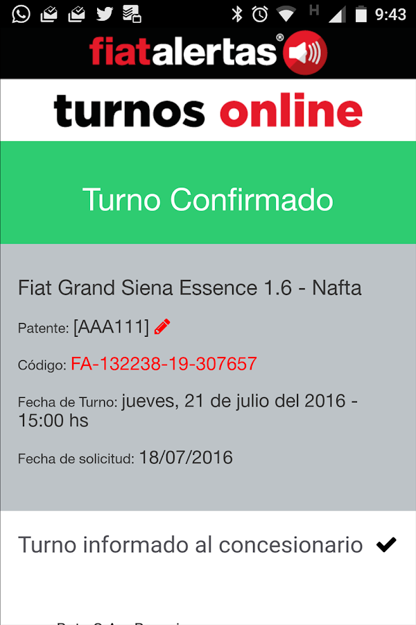 Fiat Alertas Ar- screenshot