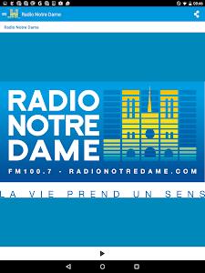 Radio Notre Dame - 100.7 FM screenshot 5