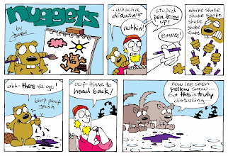 "Photo: ""Nuggets"" Sunday strip"