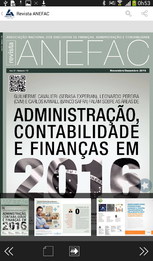 Revista ANEFAC- screenshot