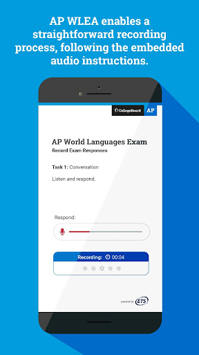AP World Languages Exam App (AP WLEA) screenshot 2