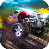 Monster Truck Dirt Rally - race in tough offroad!
